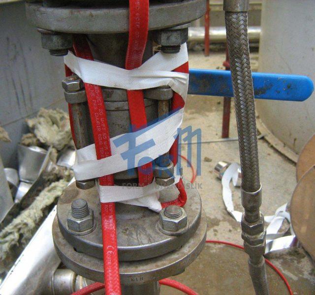 Vana ısıtıcı kablo